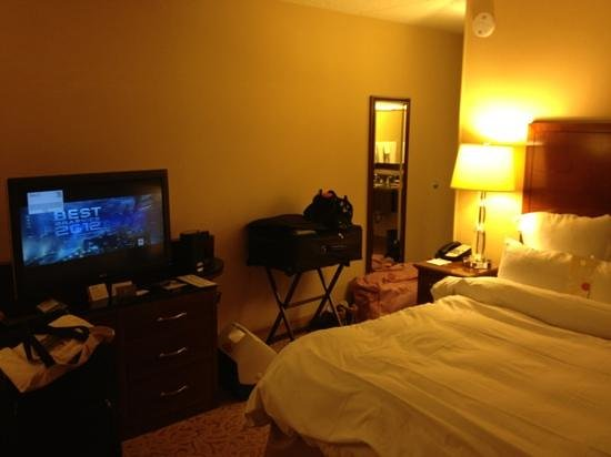 Park Ridge Marriott: room