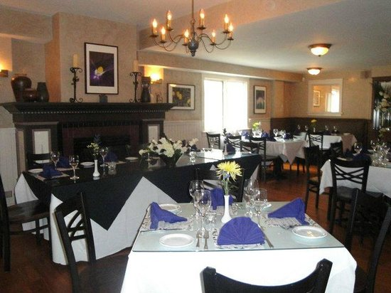 Infusion: the wedding is inside restaurant