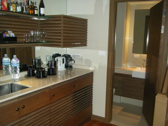 Angsana Laguna Phuket: Kitchen area
