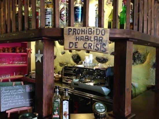 Los Pinos : Es ist verboten über die Krise zu sprechen
