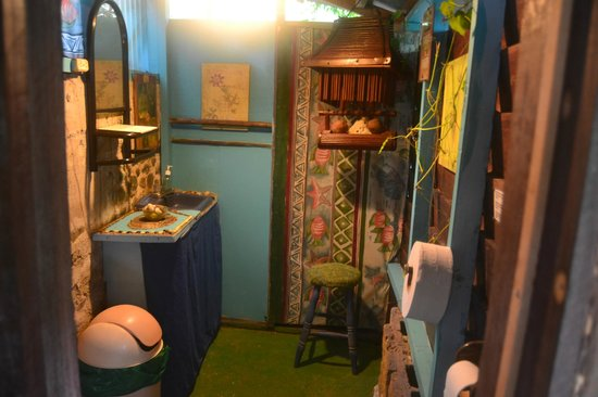 Walaba Hostel & Beach Houses: Baño, muy cuco