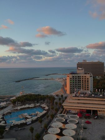 Herods Tel Aviv: View from balcony