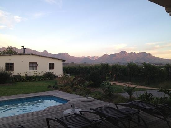 Lovane Boutique Wine Estate and Guest House: great view
