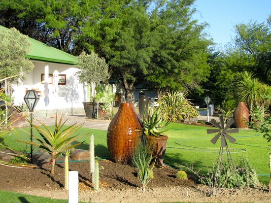 The reception area of Olive Grove Guest Farm