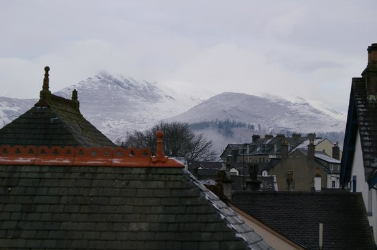 Beckside Guesthouse: from window on top room no4