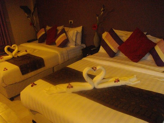 Kwaimaipar Orchid Resort Spa & Wellness: chambre quadruple