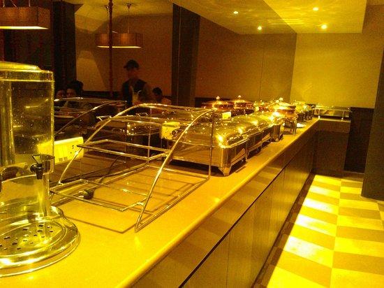 Gulati: Buffet spread for lunch