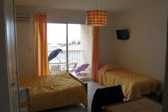 Motel Saint Michel : vue de la chambre