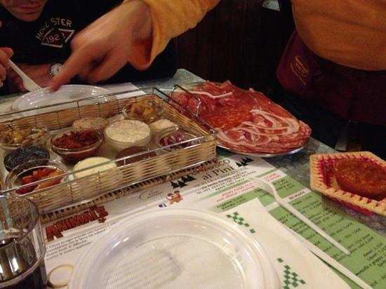 Chiosco Ai Pini : condimenti ed affettati