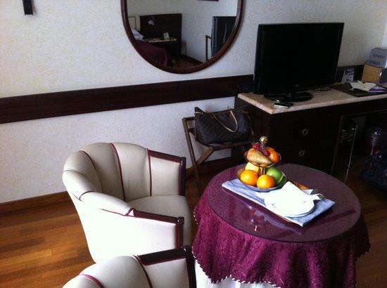 Hotel Leopardi: Accoglienza con frutta fresca