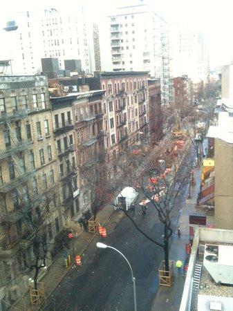 Hampton Inn Manhattan-Times Square North: Vista do quarto