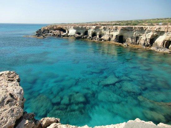 Cape Greco (Cavo Greco): The sea caves