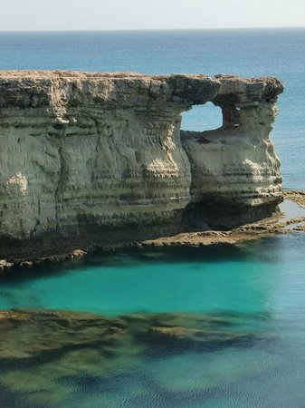 Cape Greco (Cavo Greco): The sea caves