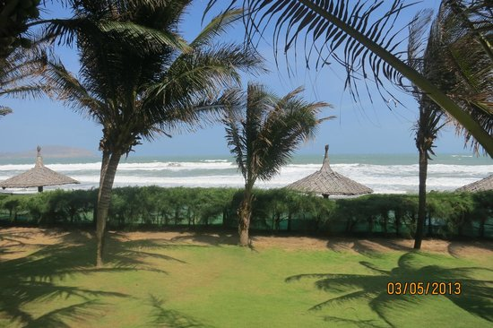 Pandanus Resort: View from bungalow 102