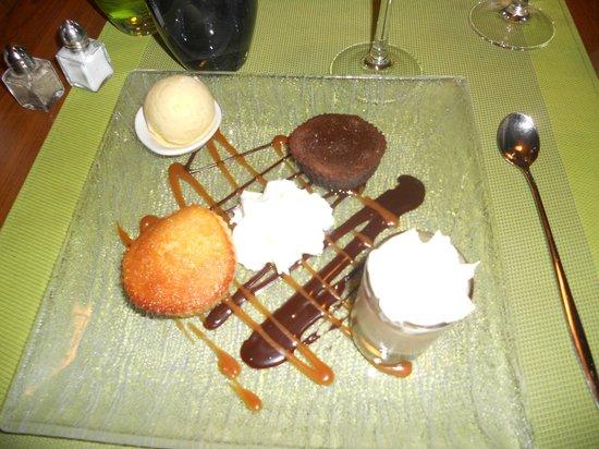 Les Alizes: dessert gourmand