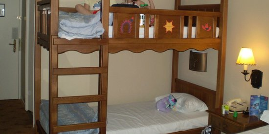 Bunk Bed In A Room Picture Of Disney S Hotel Cheyenne Marne La