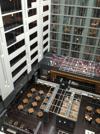 Hilton Columbus Downtown: View from 10th floor