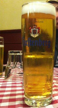 L'Osteria di Cicerone: L'ottima bionda tedesca Fürstenberg!