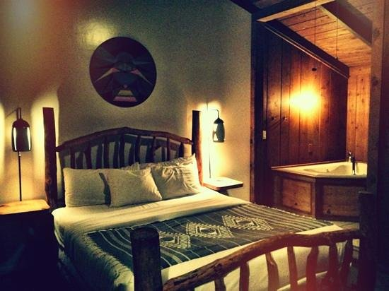 Ojai Rancho Inn: Room #9. So funky! Love it.