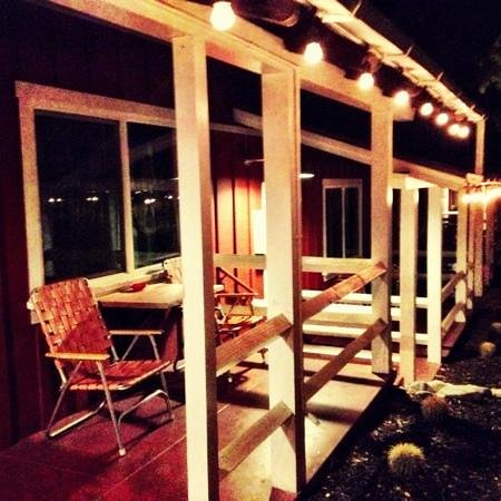 Ojai Rancho Inn: Each room has a cute little patio.