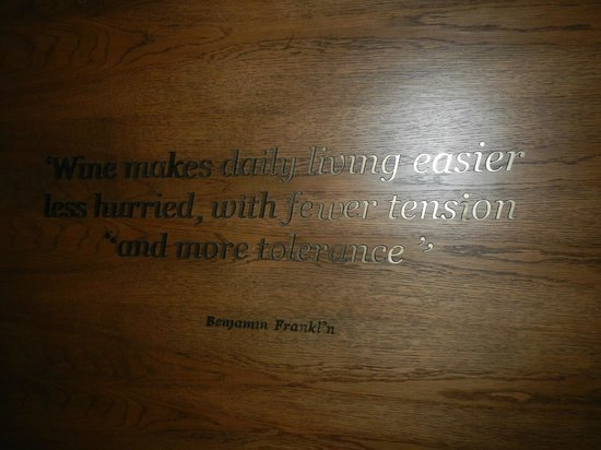 Andaz Napa: Swivel TV-this quote is on the other side