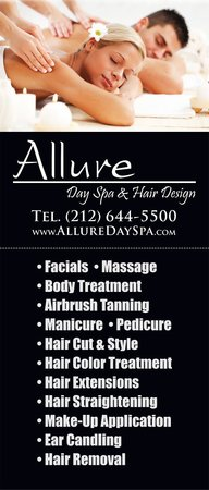 Allure Day Spa : Massage