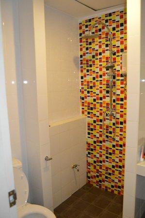 Ascot Boutique Hotel: dusch