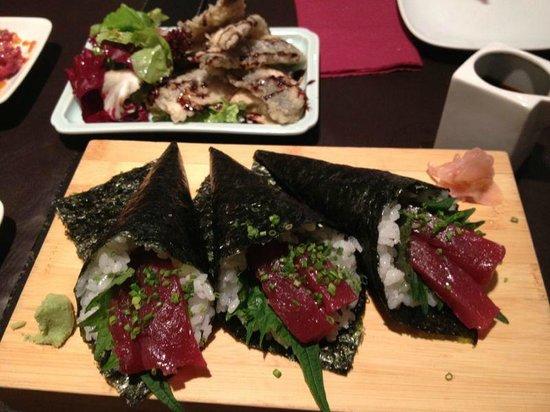 Can Kenji: tuna with mint