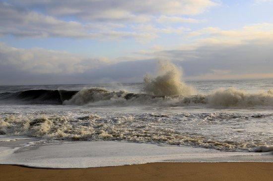 Rehoboth Beach Boardwalk Incredible Waves