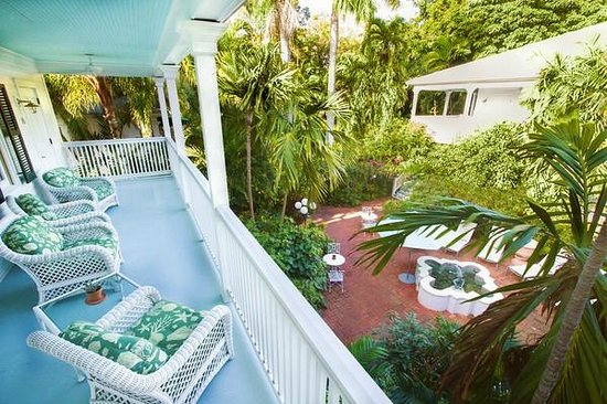 Courtyard Picture of The Gardens Hotel Key West TripAdvisor