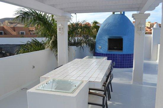 Bahiazul Villas & Club: BBQ area