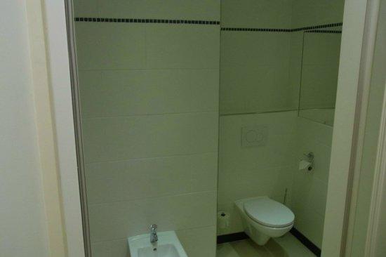 Hotel SPIESS & SPIESS Appartement-Pension: WC (von Bad/Dusche getrennter Raum)