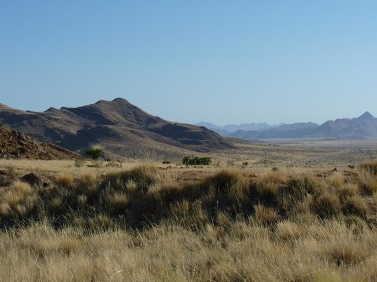Barchan Dune Retreat: Aussicht