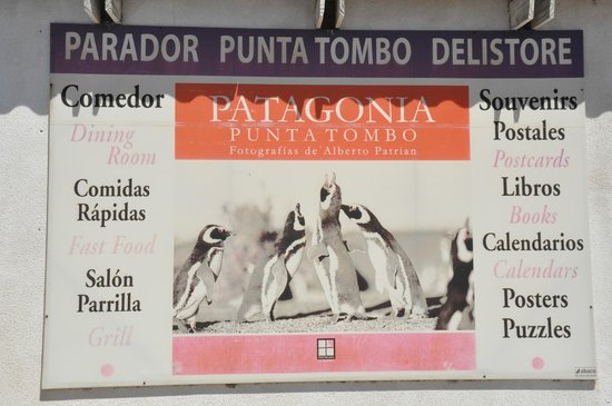 Punta Tombo National Reserve: The store/restaurant