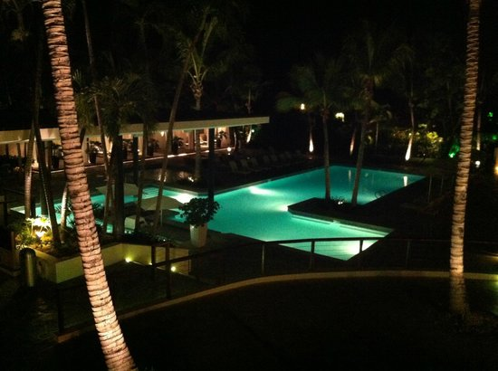 Casa de Campo: The pool behind the lobby