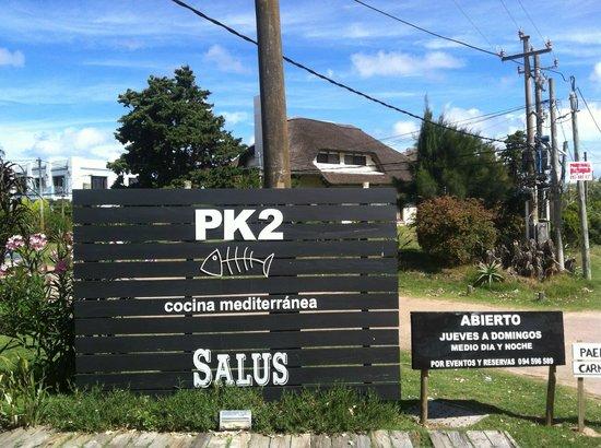 PK2: Cartel de Entrada
