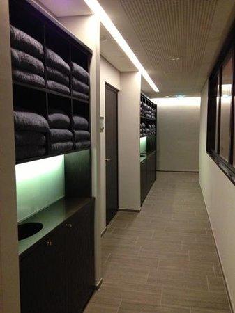 Palais Hansen Kempinski Vienna:                                                       Do you need towel? :) (spa)