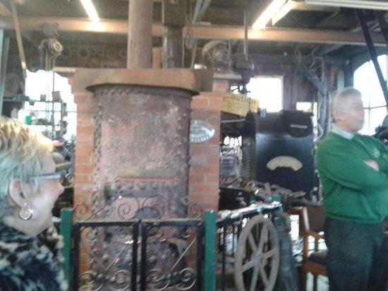 Fred Dibnah Heritage Centre: Old Betsy's boiler.
