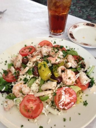 Olympia: posidon salad