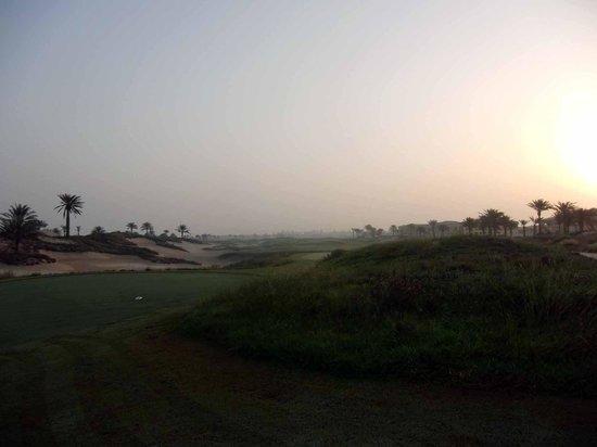 Saadiyat Beach Golf Club: saadiyat sunrise