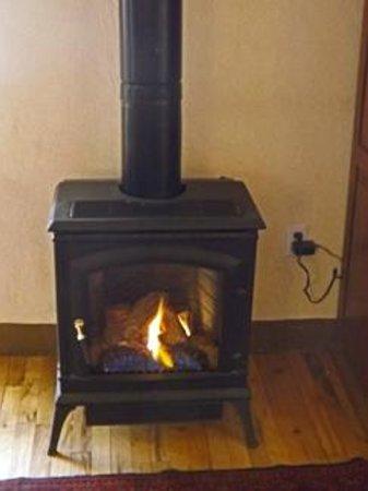 "Las Palomas Inn Santa Fe: Our ""fireplace"""