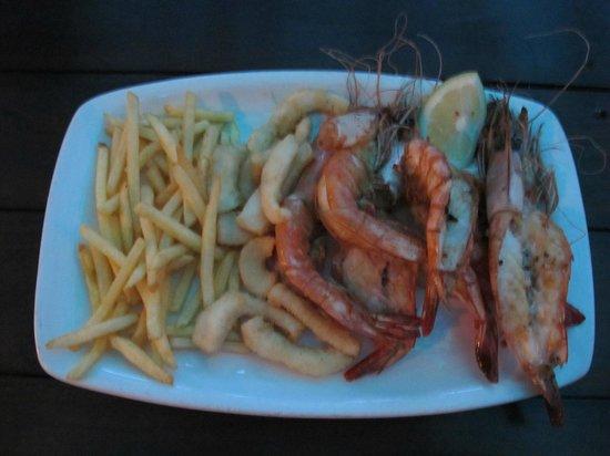 Sodwana Bay Lodge: pranzo.....buono!