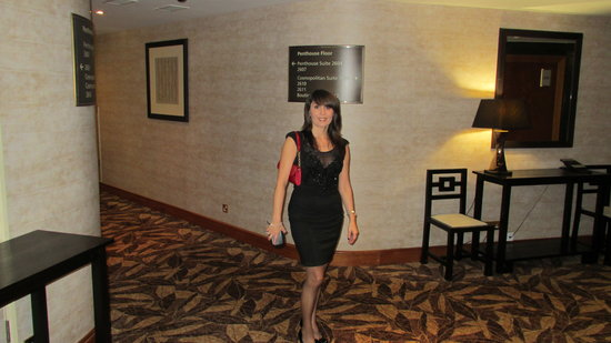 โรงแรมลอนดอน ฮิลตัน ออน พาร์ค เลน:                   Penthouse Floor