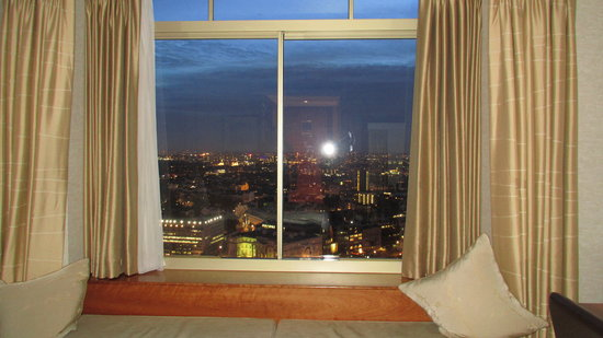 London Hilton on Park Lane:                   View from the Executive Room