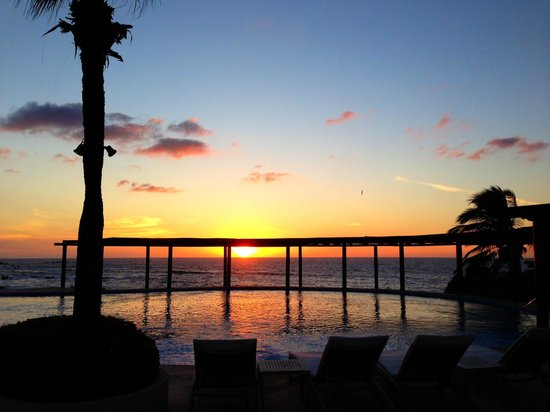 Four Seasons Resort Punta Mita: Coucher de Soleil