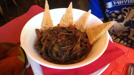 Cibreo Trattoria: Squid and onion stew with crostini