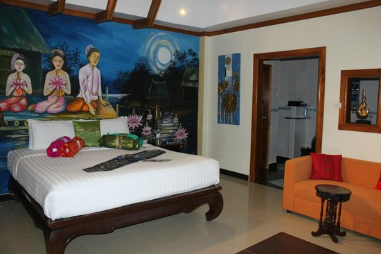 Baan Malinee Bed and Breakfast: Notre chambre