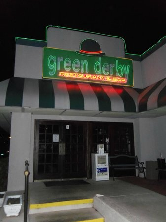 Green Derby Restaurant & Bar:                   The Green Derby Restaurant (at the Perry, Ga. Ramada Inn)