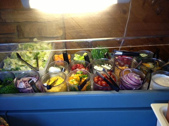 Richard's Restaurant and Bar:                   Salad Bar
