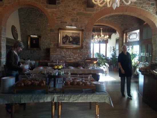 Hotel Mulino di Firenze: Restaurant